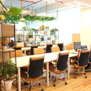 Un espace de coworking pour les salariés